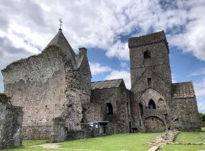 Picture of Inchcolm Abbey, Scotland