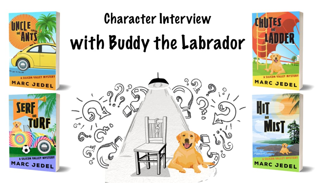 Buddy the Labrador under interrogation spotlight