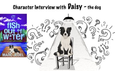 Guest Interview with Daisy, the dog, from Fish Out of Water