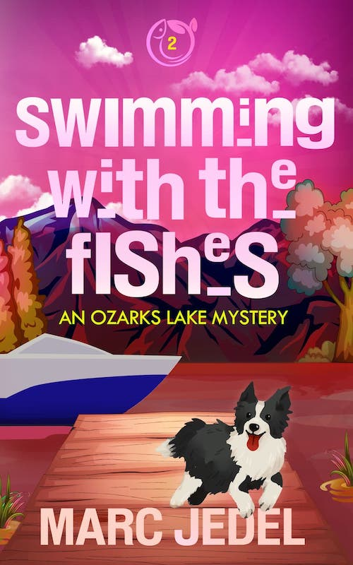 cover of Swimming with the Fishes book